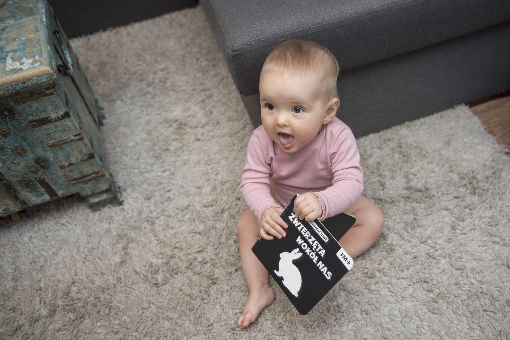 Książeczka kontrastowa dla niemowląt