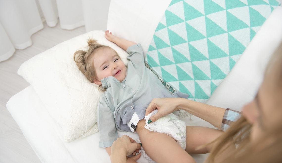 odparzenia skóry dziecka