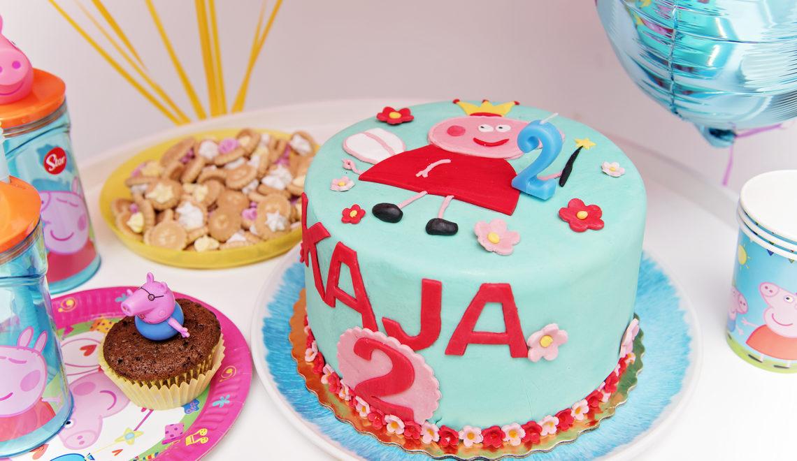 urodziny w stylu świnki peppa